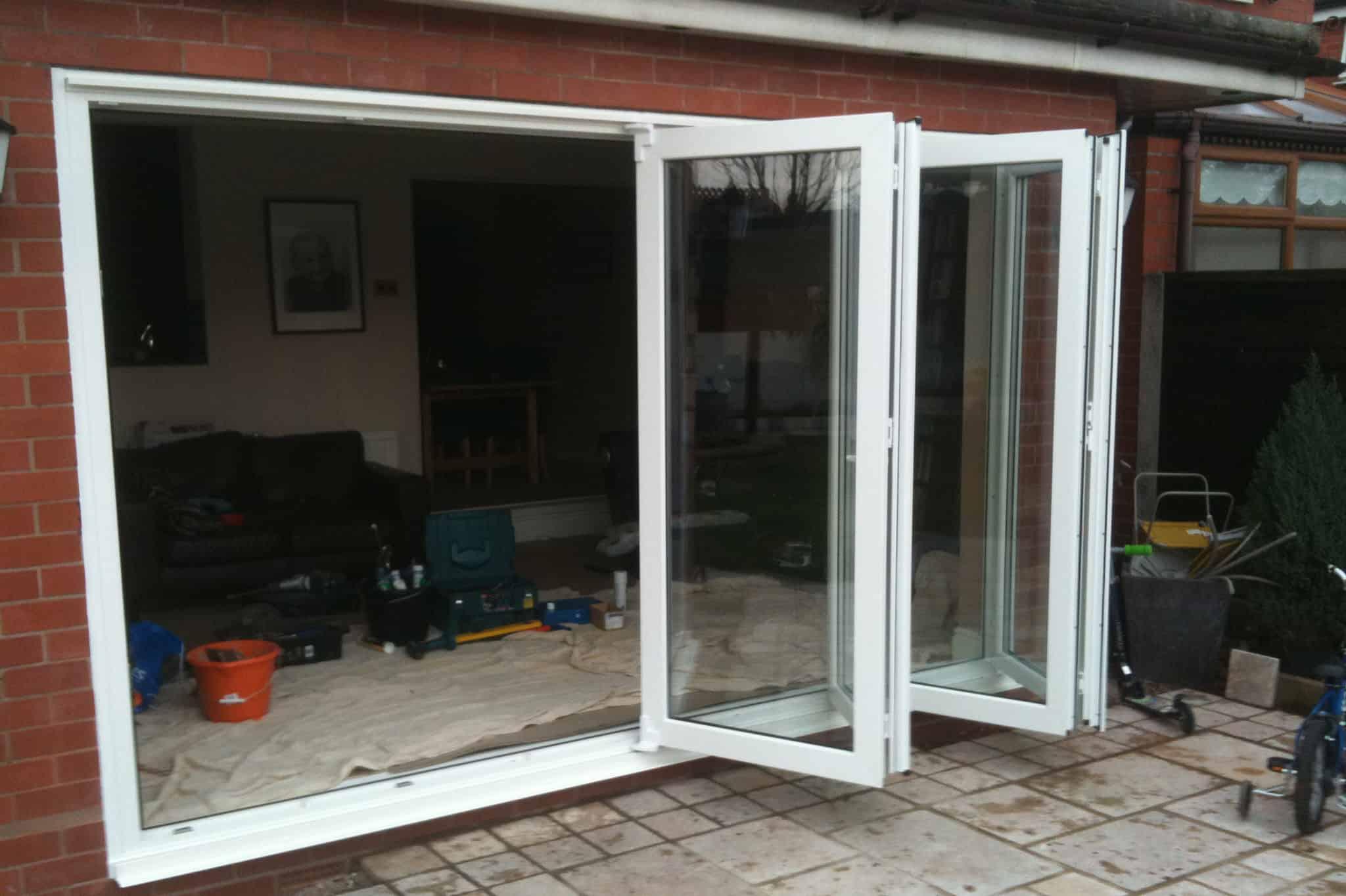Aluminium Bi Folding Doors Concept Home Improvements