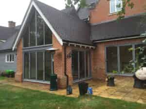 Coloured Bi-Folding Doors costs