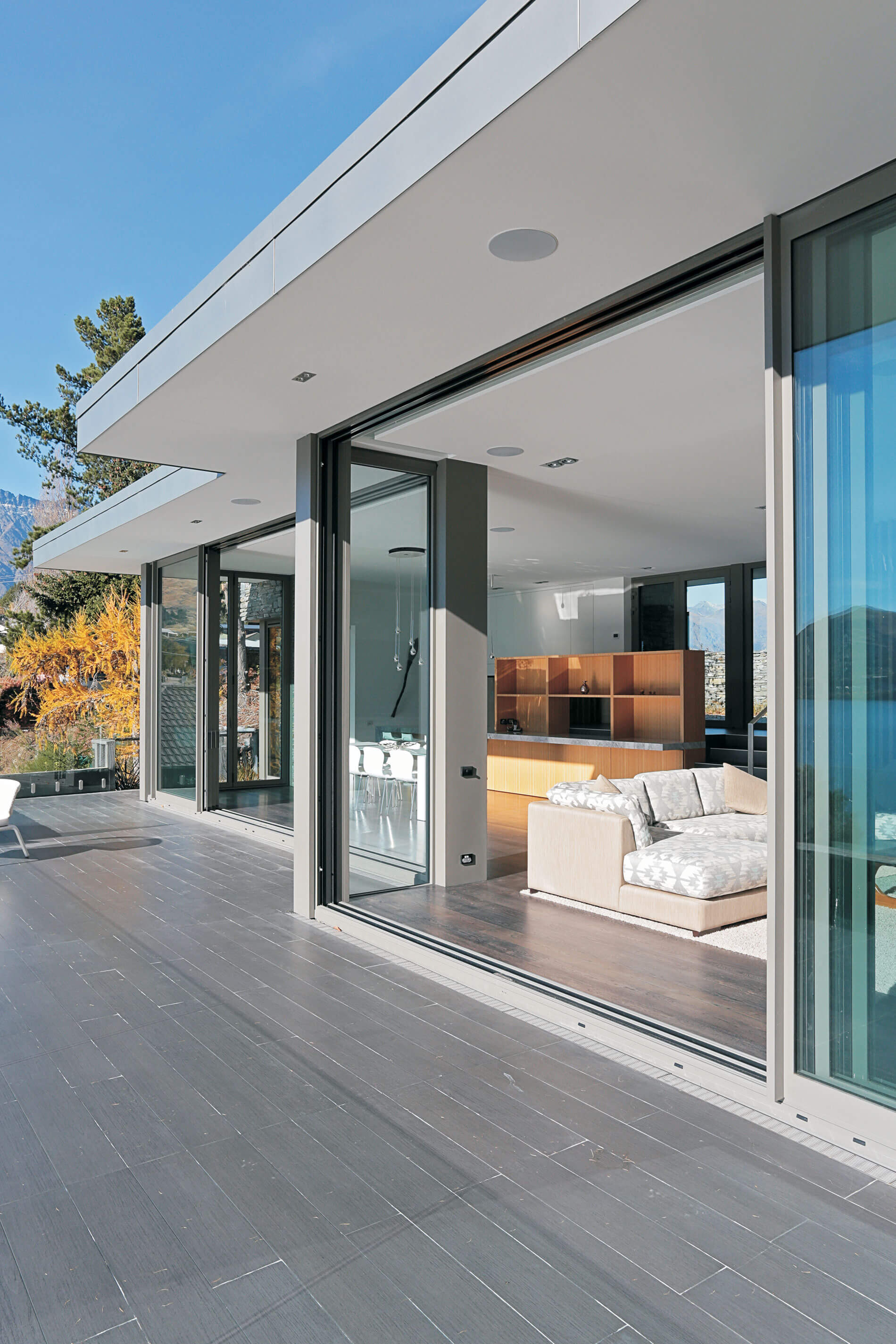 Slimline Aluminium Sliding Door