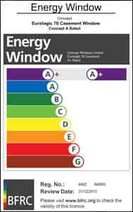 Energy Window Rating Essex